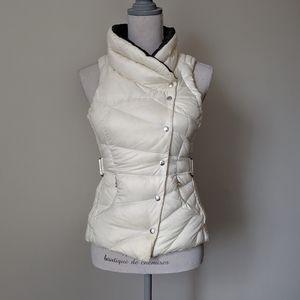 Lululemon Get Down Reversible Puffy Vest White